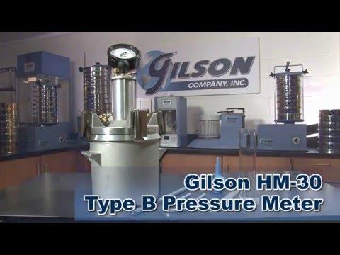 Gilson Concrete Pressure Meter features the Gorilla Gauge (HM-30)