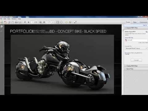 Adobe Bridge CS6  to pdf