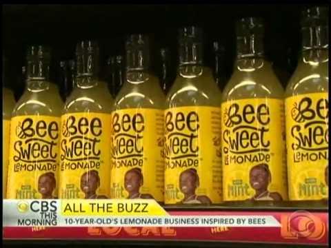BeeSweet Lemonade Featured on CBS This Morning News