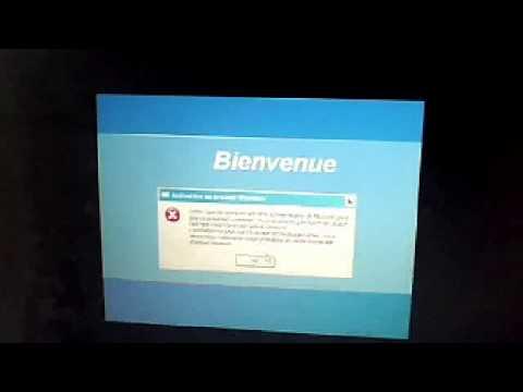 On va fixer l'activation de Windows XP