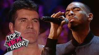 Is this the MOST EMOTIONAL SIMON COWELL has been during an audition?