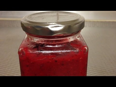 Make Homemade Raspberry Chia Seed Jam - DIY Food & Drinks - Guidecentral