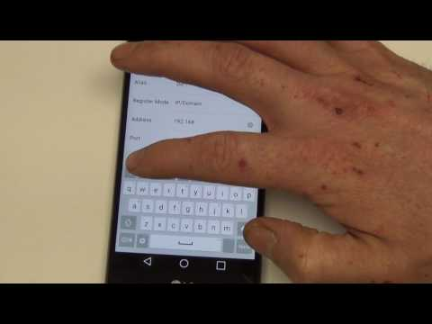 How to Configure iVMS 4500 on Your SmartPhone for Remote Viewing Over Static IP