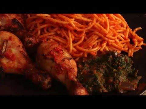 How to make Nigerian Jollof Spaghetti