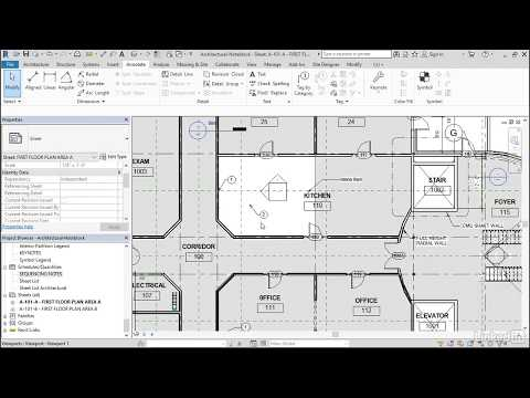 Note blocks | Revit Schedules from LinkedIn Learning