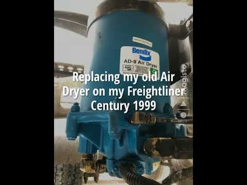 Replacing my old Air Dryer on my Freightliner Century 1999