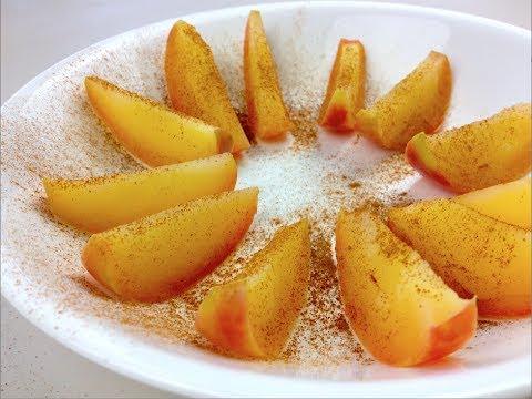APPLE & CINNAMON SLICES - Healthy snack recipe
