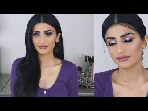 Get Ready with Me: Purple/Lavender Makeup