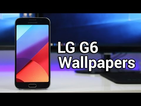 Download LG G6 Stock Wallpapers!