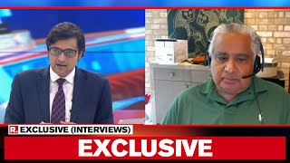 Senior Advocate Harish Salve Speaks To Arnab Goswami After Victory At Bombay High Court