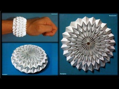 WaterBomb Origami Bracelet / Ball