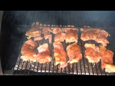 Traeger chicken practice