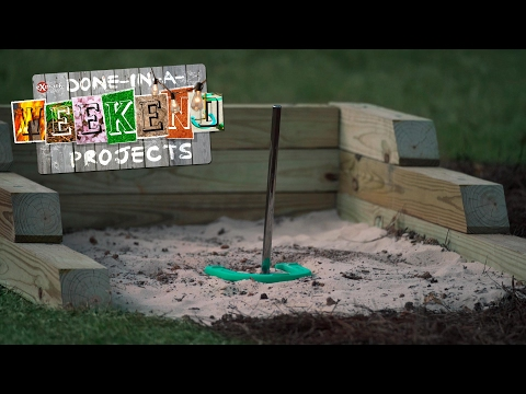 Game On: How To Build a Horseshoe Pit and Ring Toss Game