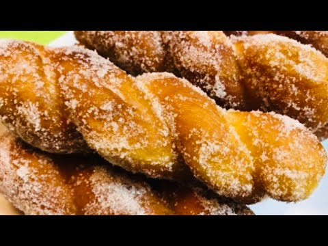 SHAKOY/PILIPIT/TWISTED DOUGHNUT recipe