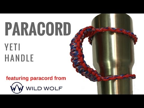 Paracord Yeti Handle - How to Make your Own in under 10 Minutes