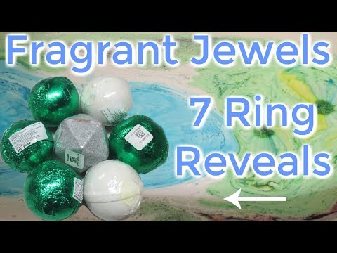 Fragrant Jewels Ring Reveals - 7 Not So Perfect Bath Bombs!