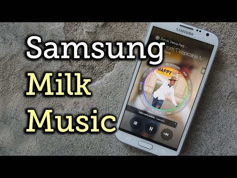 Milk Music: Samsung's New Ad-Free Music Streaming Service - Samsung Galaxy Note 2 [How-To]