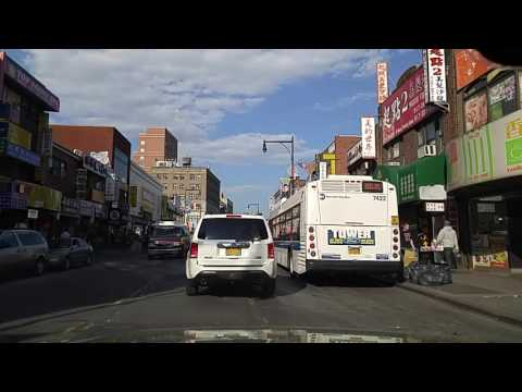 Driving by Flushing Queens,New York