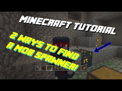 Minecraft: 2 Best Ways to Find Mob Spawners! (Xbox360/Ps3/Pc)
