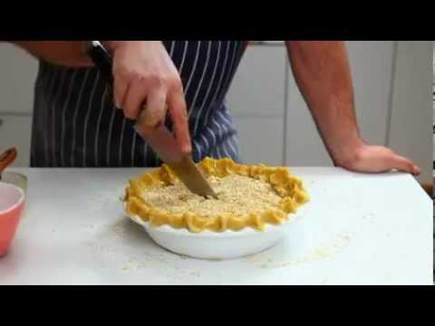 Assembling a fruit pie, from Jamie's America
