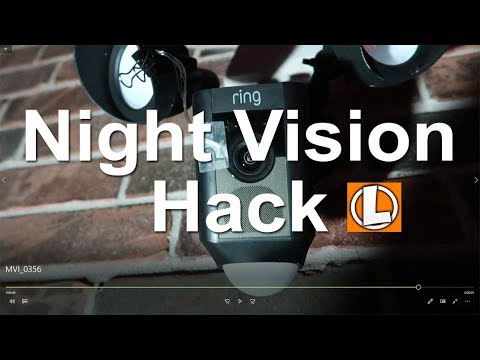 Ring Spotlight Camera and Floodlight Cam Night Vision Hack To Full Color