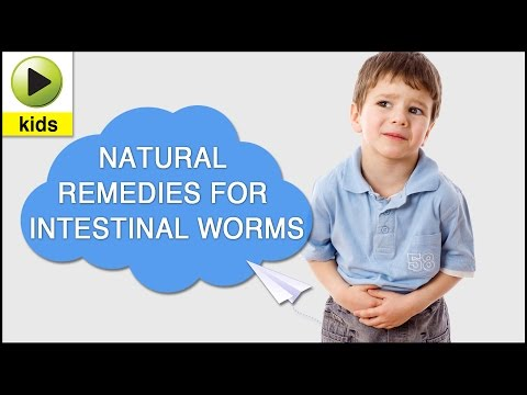 Kids Health: Intestinal Worms - Natural Home Remedies for Intestinal Worms