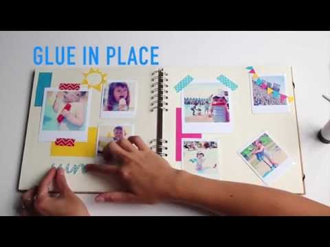 How to layout a scrapbook page (kids holiday edition) | Paperchase
