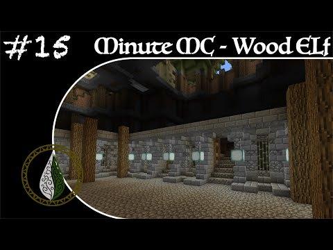 Minute Minecraft - Time Lapse - Wood Elvish Village - Ep.15