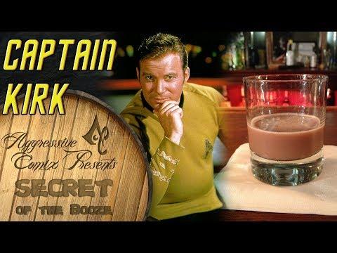 Captain Kirk Star Trek Inspired Cocktail