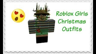 Roblox 10 Awesome Girls Christmas Outfits Idea