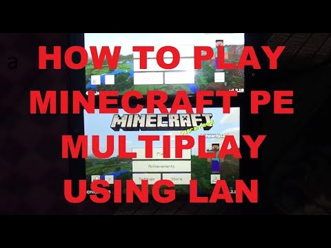[EASY] How to play Minecraft PE Multiplayer using Hotspot/wifi (LAN) Latest Version