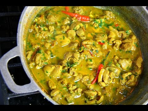 AMAZING 20 Minute Curry Chicken | CaribbeanPot.com