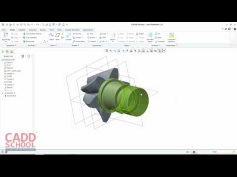 Creo tutorial for beginners - How to make helical gear in creo
