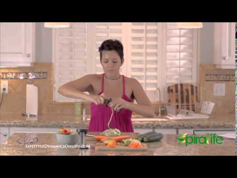 Making Zucchini Pasta with Your Vegetable Spiralizer