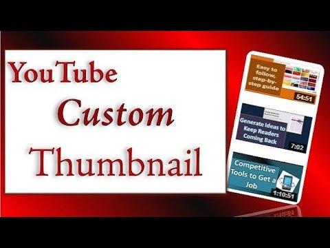 How to Create a YouTube Custom Thumbnail