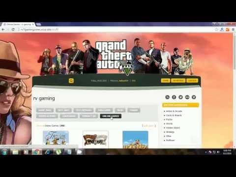 Create Gaming Website -  Free