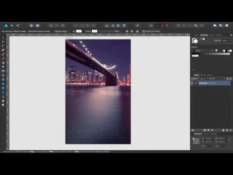 Affinity Designer Tutorial - Creating a wallpaper