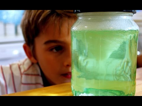 How to make a tornado in a jar science trick