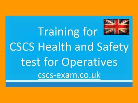 CSCS Test Questions and Answers