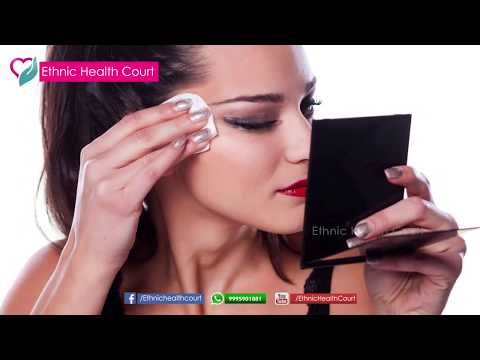 How To Remove Makeup Without Makeup Remover | Malayalam Beauty Tips | Ethnic Health Court