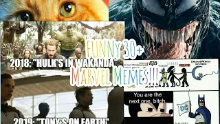 Funny 30+ MCU (New Avengers: End Game memes)