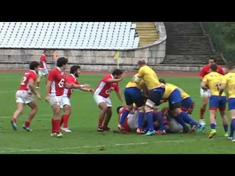 Portugalia - Romania 17-33, meci de pregatire