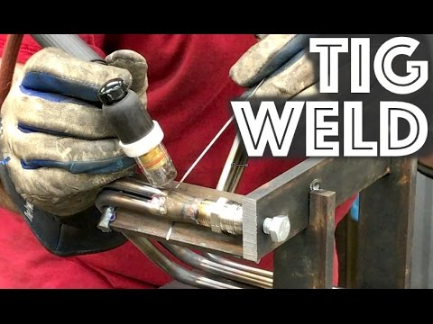 Torch Heat Bend and Tig Weld Stainless Steel Tubing