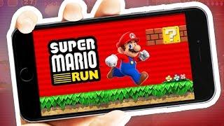 SUPER MARIO RUN!!!