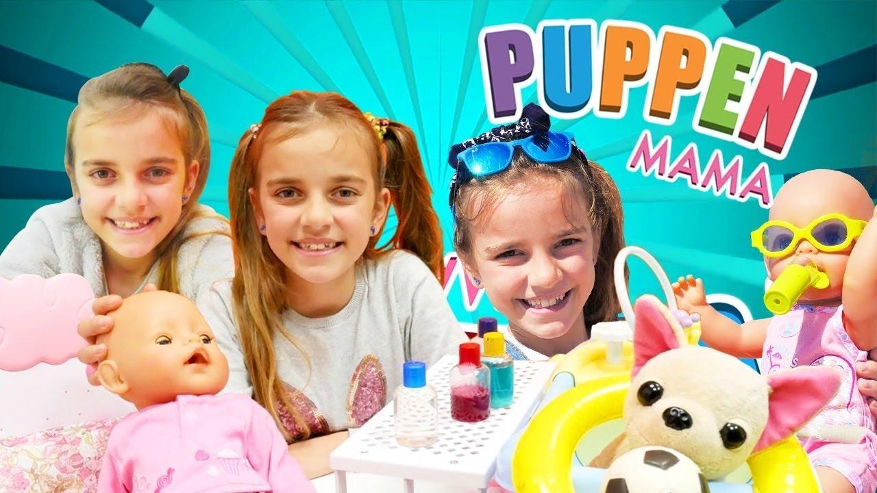 Puppen Mama - 6 Folgen am Stück - Spielzeugvideo mit BabyBorn