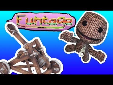 FuNtAgE // LBP3 - BUILD A CATAPULT!!!   kgamer64   littlebigplanet 3
