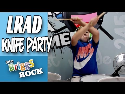 LRAD Knife Party Drum Cover Briggs