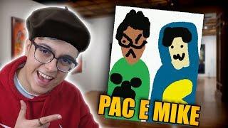 COMO DESENHAR O PAC E O MIKE!