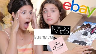WE BOUGHT THE MOST EXPENSIVE EBAY BEAUTY MYSTERY BOX! was it worth it?