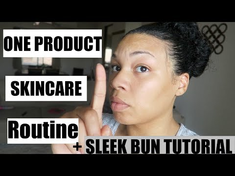 ONE PRODUCT!!!SKINCARE ROUTINE FLAWLESS SKIN NO- ACNE (HIGHLY REQUESTED)